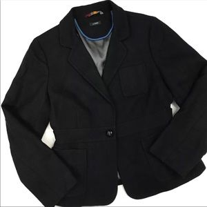 J Crew Noble Scottish Tweed Wool Blazer Sz P4